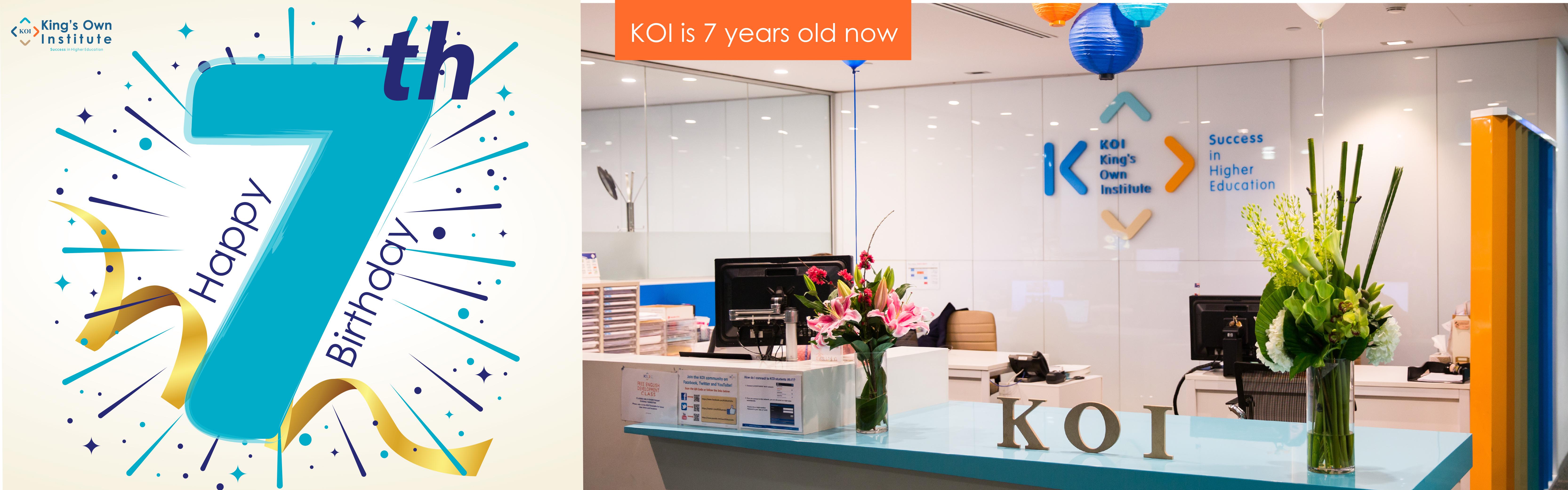 KOI-Homepage