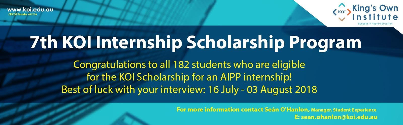 7th_KOI_Internship_Scholarship_Program